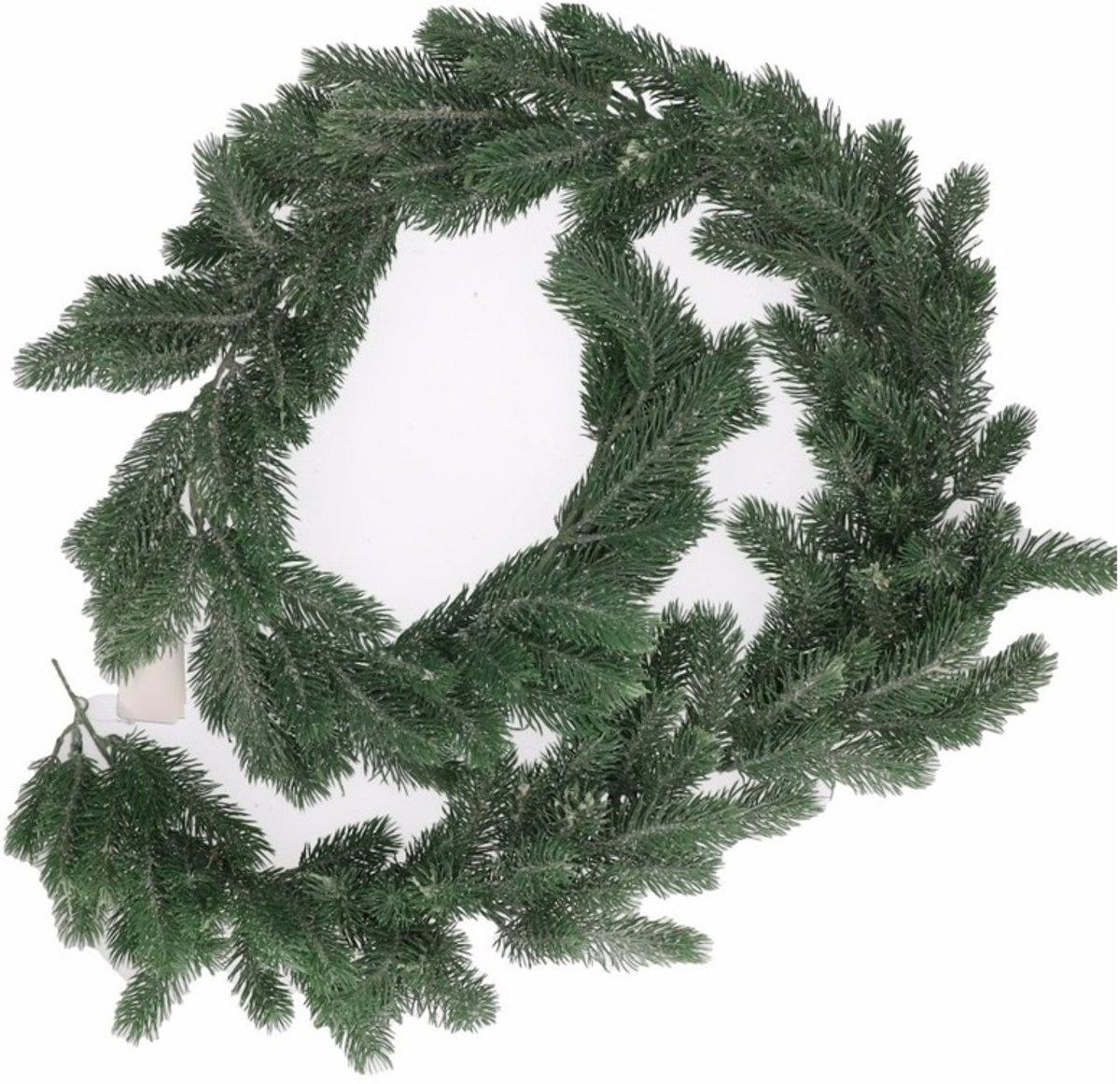Groene dennentakken kerst slinger 180 cm kopen