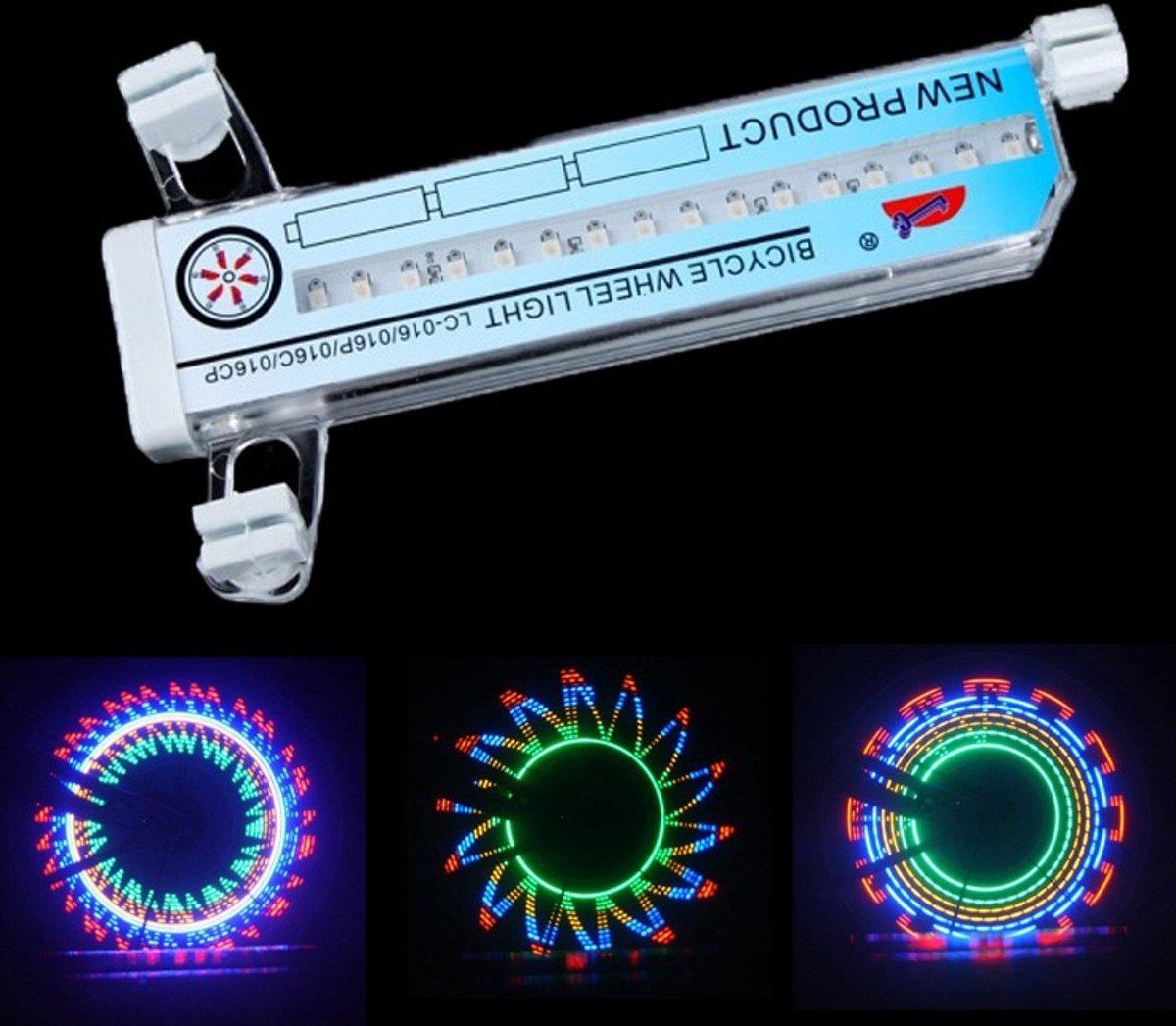 bol.com | Nu een SET LED Fietswiel Spaakverlichting ...