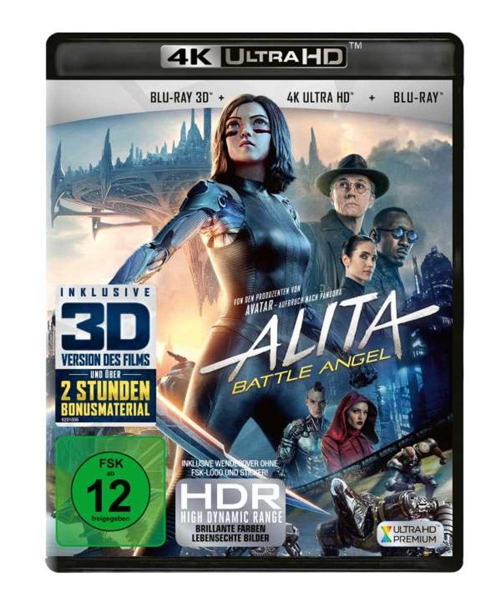 Alita: Battle Angel (Ultra HD Blu-ray & 3D & 2D Blu-ray)-