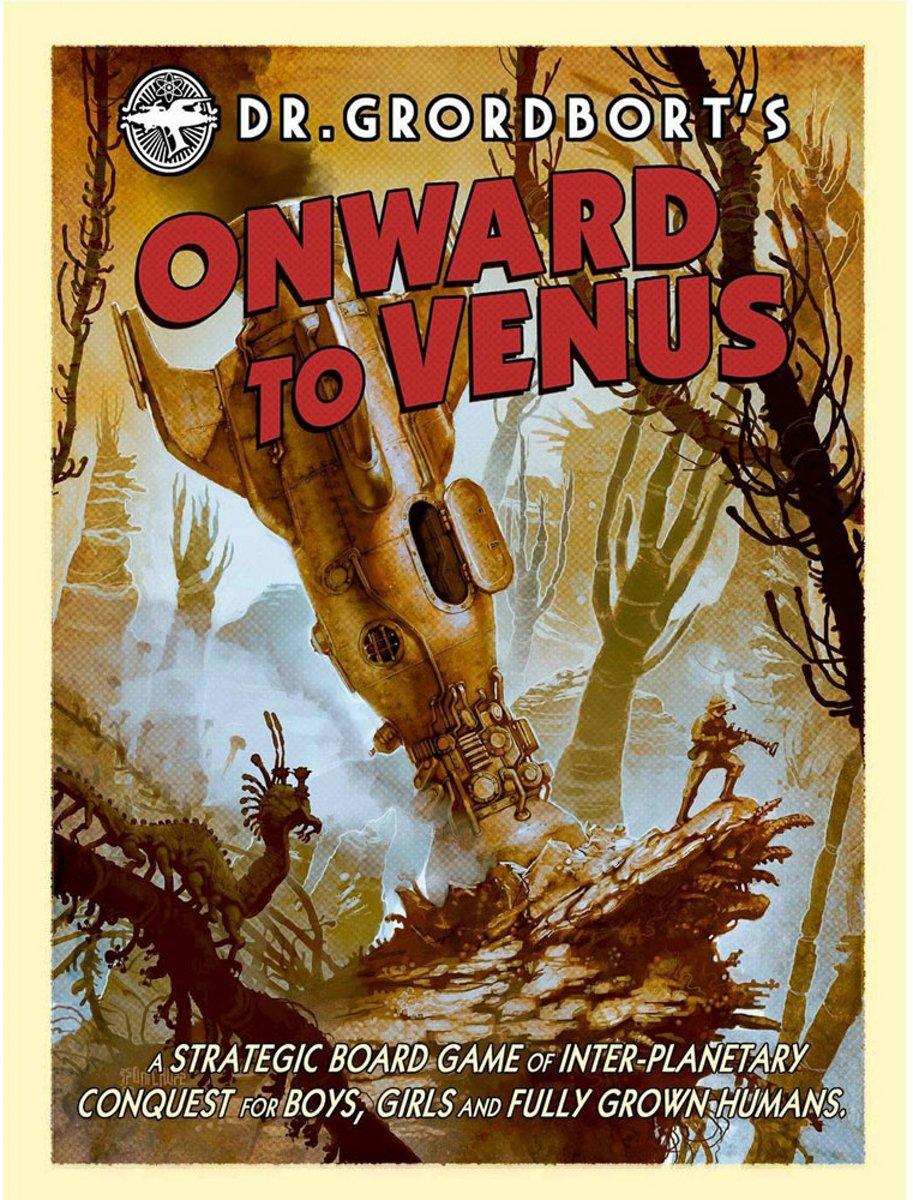 Verder naar Venus - bordgame - Engelse versie