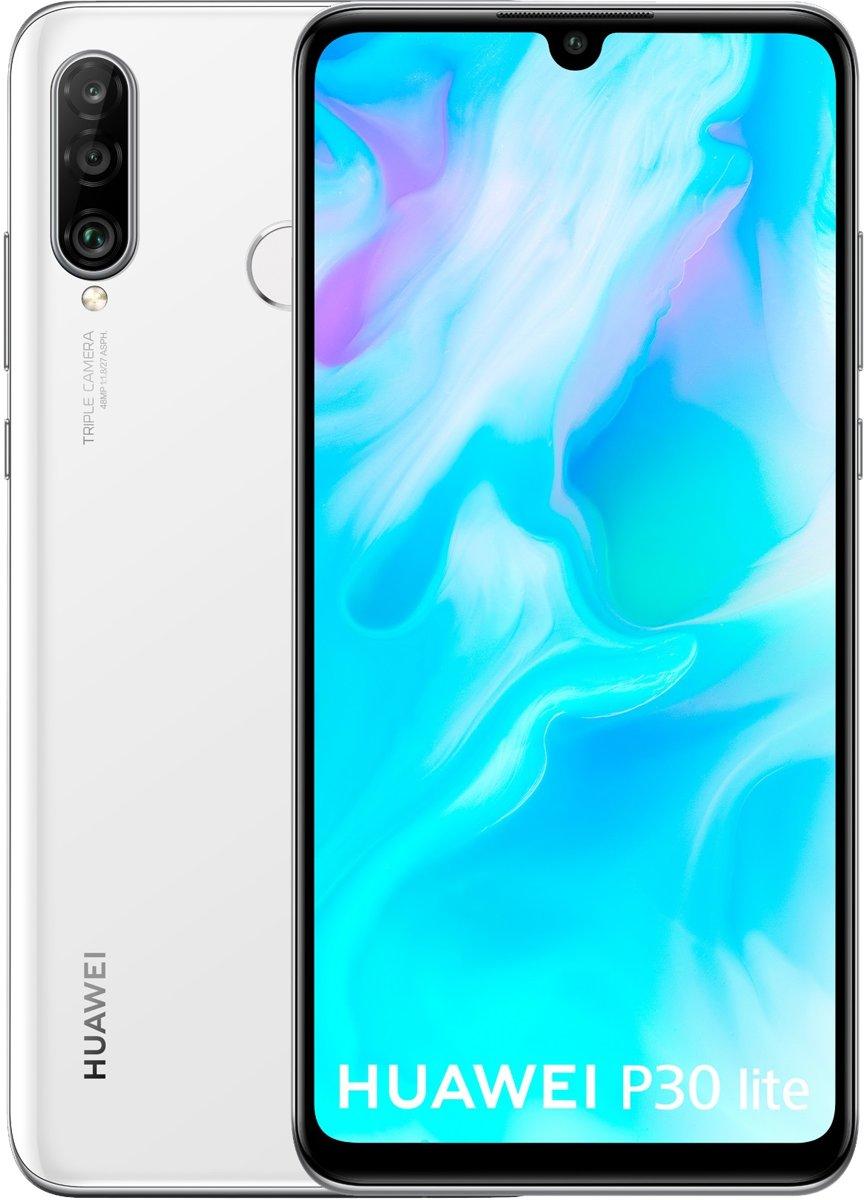 Huawei P30 Lite - 128 GB - Dual Sim - Pearl Wit kopen