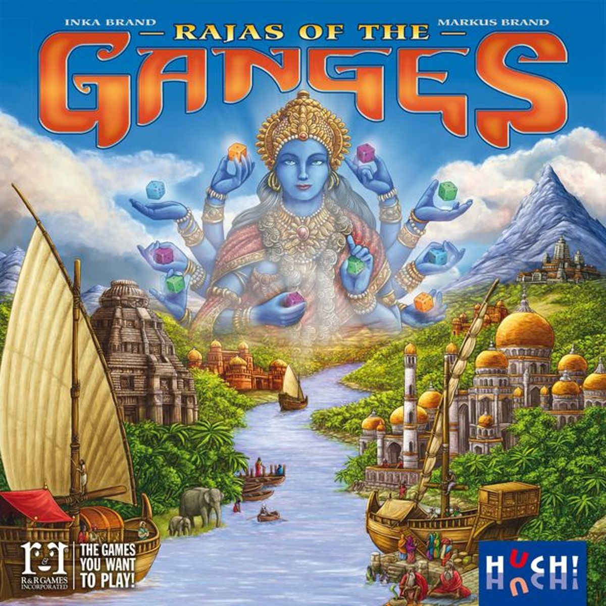Rajas of the Ganges EN/DE/FR