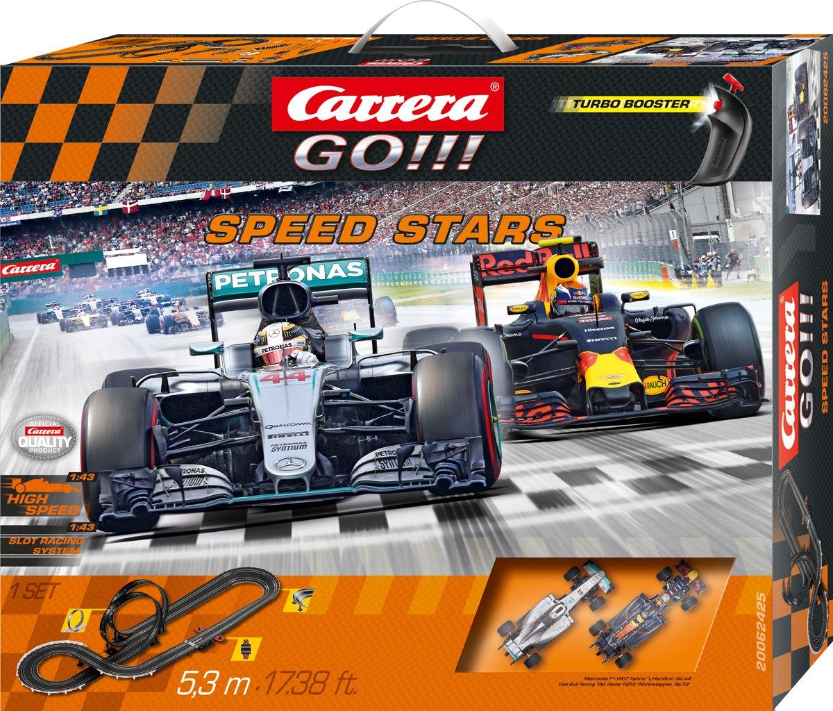 Carrera GO!!! Speed Stars Max Verstappen - Racebaan