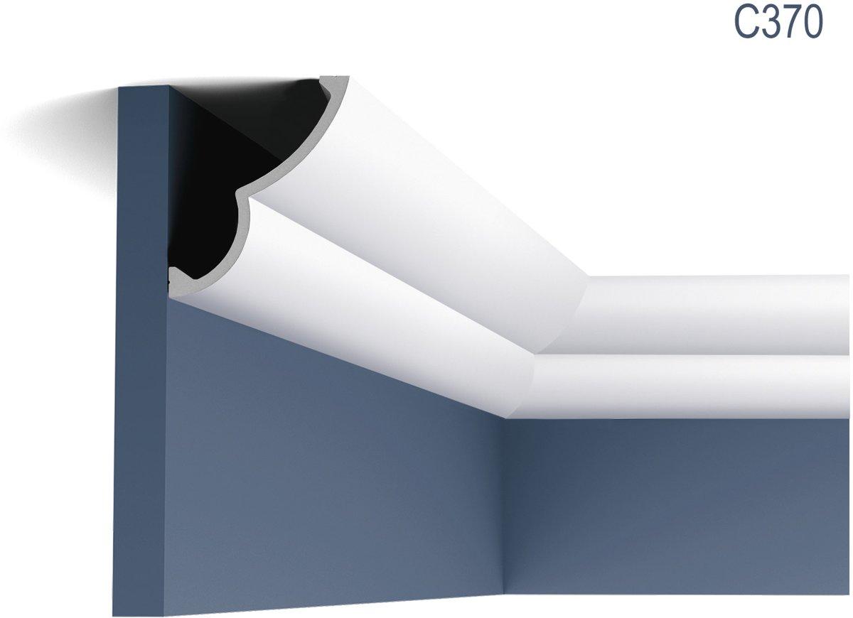Designer Sierlijst Origineel Orac Decor Orac Decor C370 Cloud Ulf Moritz LUXXUS Kroonlijst Plafondlijst voor indirecte verlichting 2 m kopen
