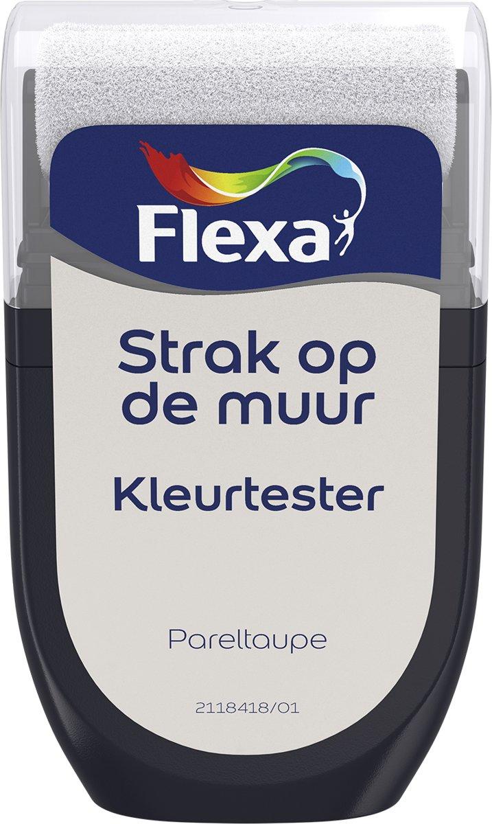 Flexa Strak op de Muur Tester - Watergedragen - Mat - pareltaupe - 0,3 liter kopen