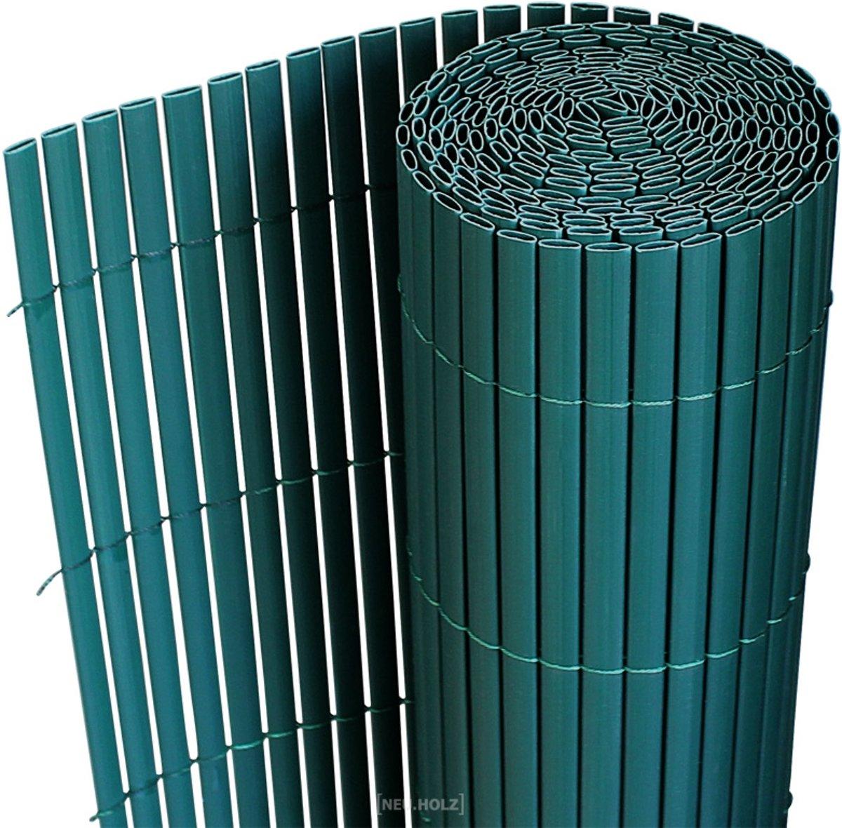 [neu.haus]® Tuinscherm - pvc - 1,5 x 3m - groen kopen