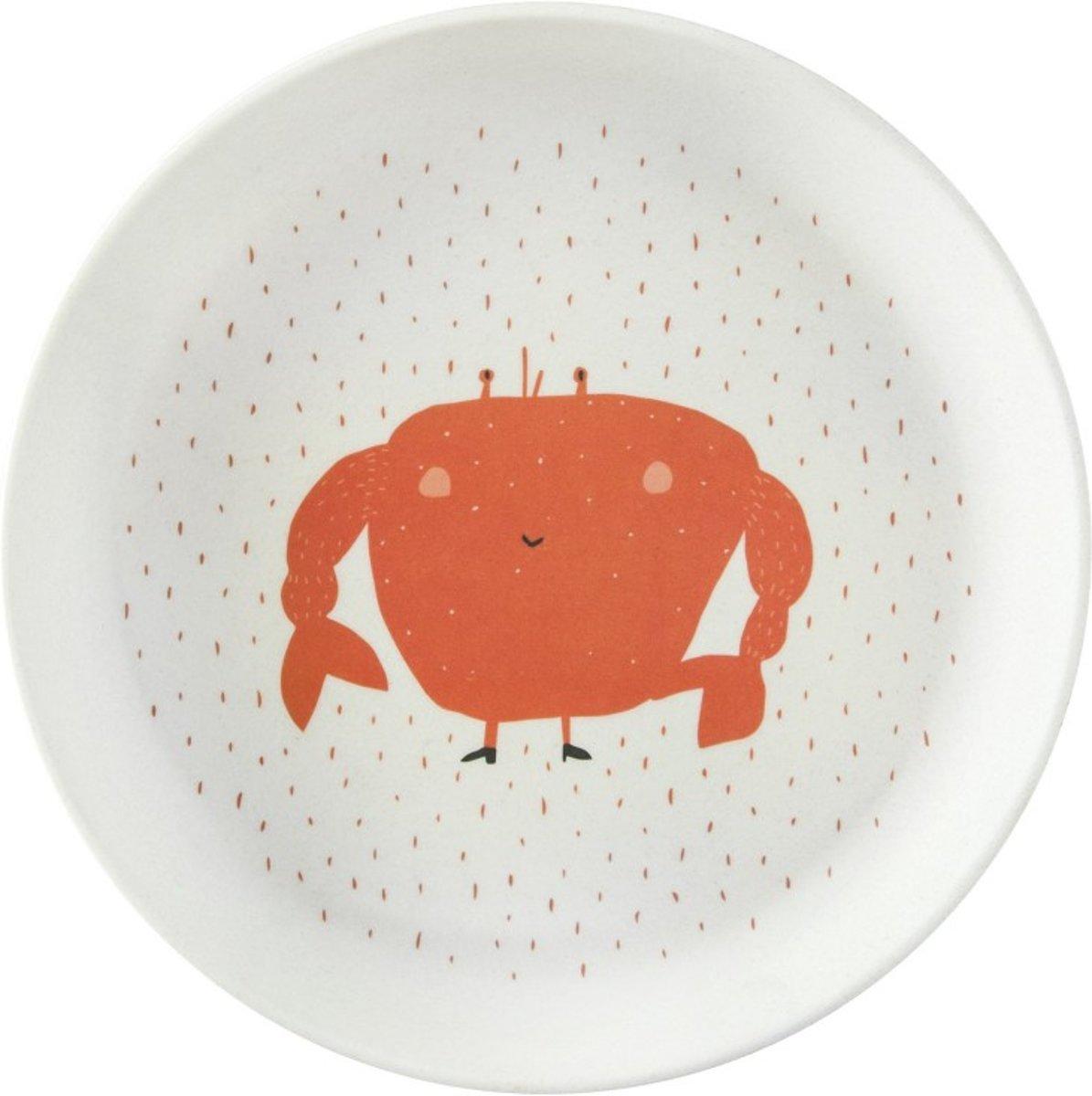 807068636ba bol.com   Trixie baby - Bamboo Eetset - Mrs. Crab