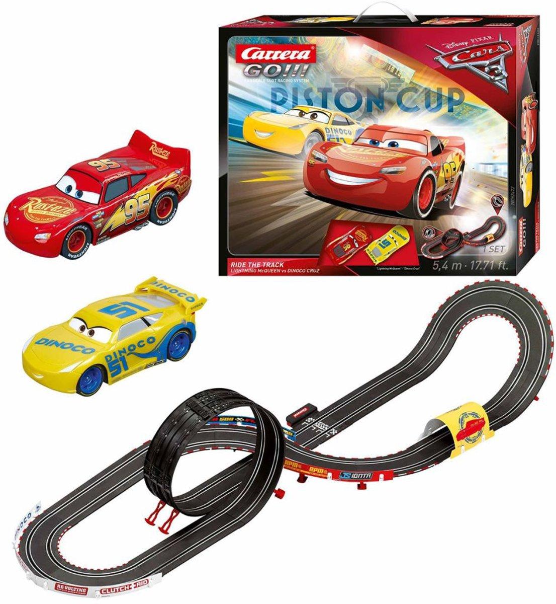 Carrera GO!!! Racebaan Cars 3 Ride, Schaal 1:43