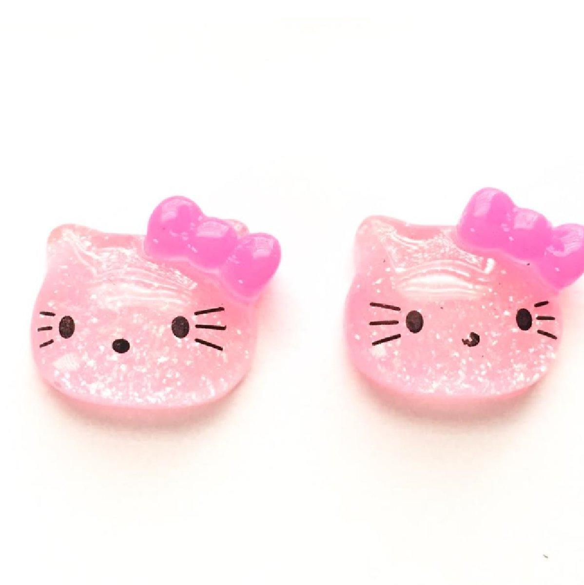 Hello Kitty oorbellen- Clip- Roze kopen