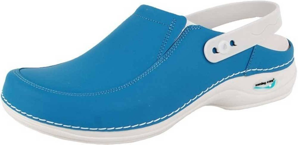 Wash & Go Clog Open Licht Blauw Klompen Uniseks kopen