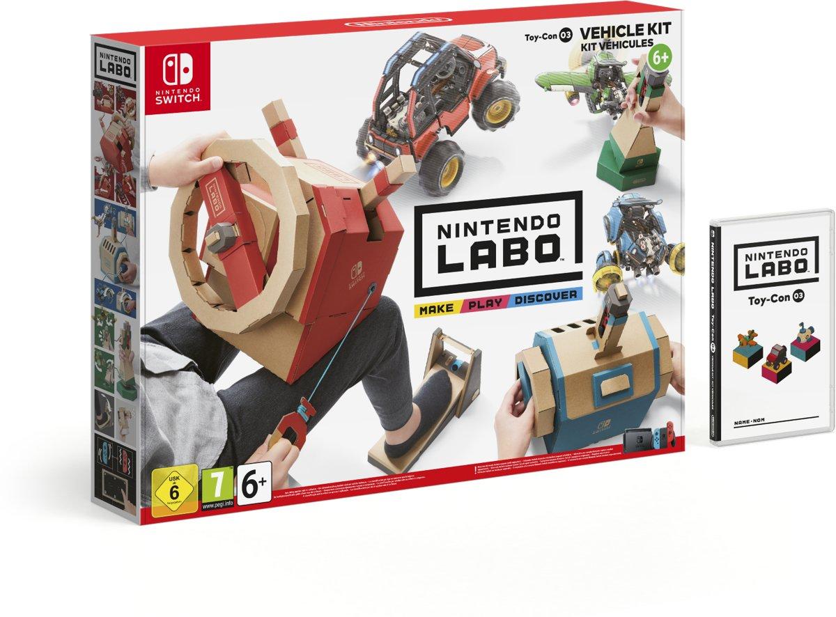Nintendo Labo - Voertuigenpakket Switch