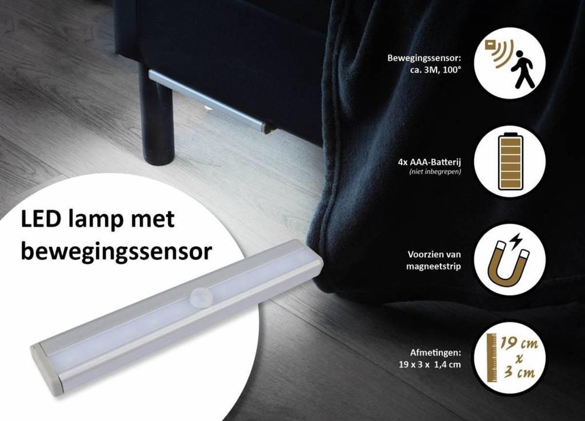 Licht En Bewegingssensor : Bol.com led lamp met bewegingssensor
