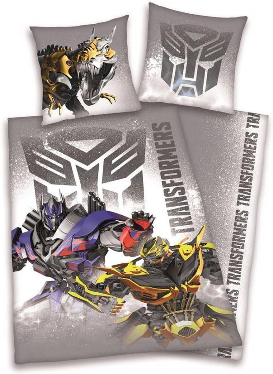 Transformers 1 persoons dekbedovertrek 140/200 + 1sloop Katoen kopen