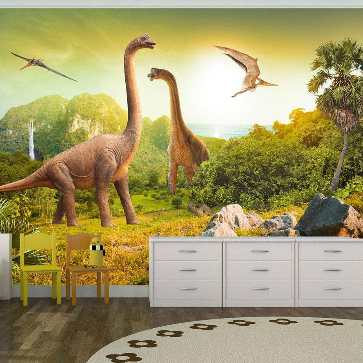 bol.com   Fotobehang - Dinosaurus