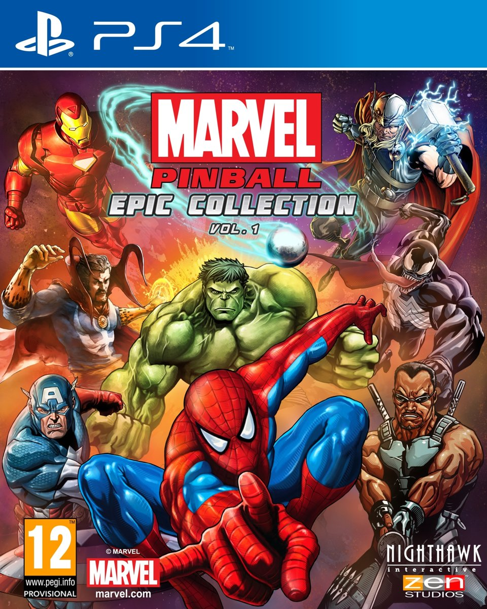 Marvel Pinball PlayStation 4