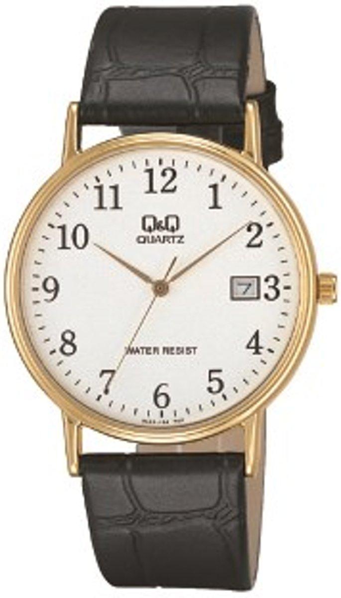 Q & Q BL02J104Y - Horloge - Zwart kopen