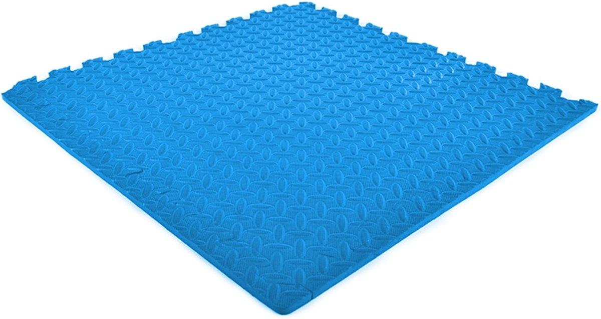 EVA FOAM tegels blauw 62x62x1,2cm (set van 12 tegels + randen) kopen