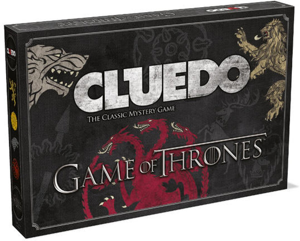 Cluedo Game of Thrones - Bordspel voor €19,50