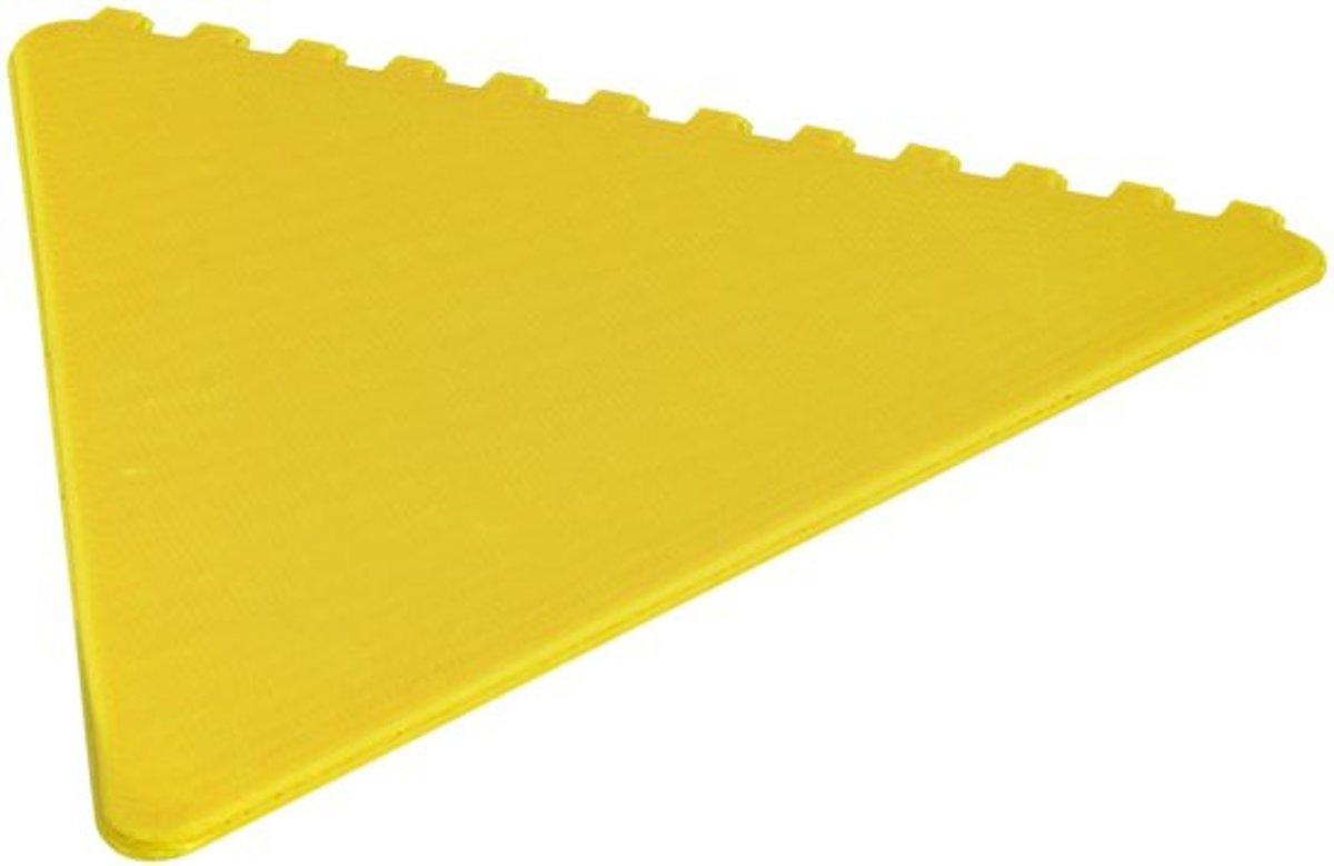 Ijskrabber van PK Automotive - auto - sneeuwkrabbers – krabber – krabbertje – vriezen – ijs - raamkrabber driehoek geel kopen