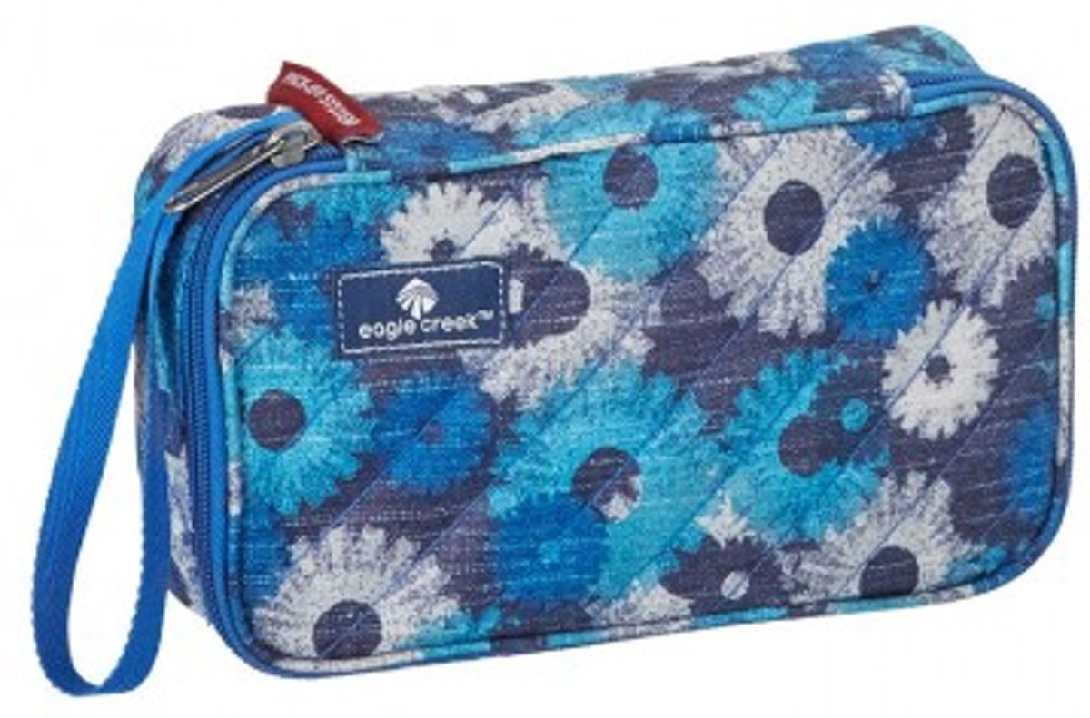 Eagle Creek Pack-It Quilted Quarter Cube Daisy Chain Blue kopen