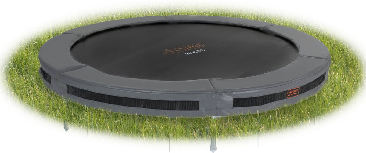 Avyna InGround trampoline PRO-LINE 3,65 (12 ft) Grijs