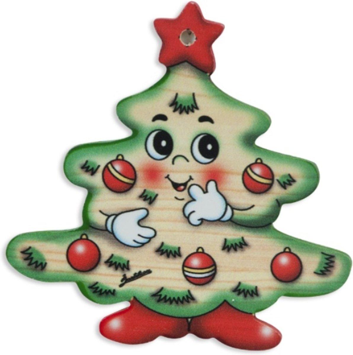 Kerstboomhanger kerstboom | Bartolucci | Hout kopen