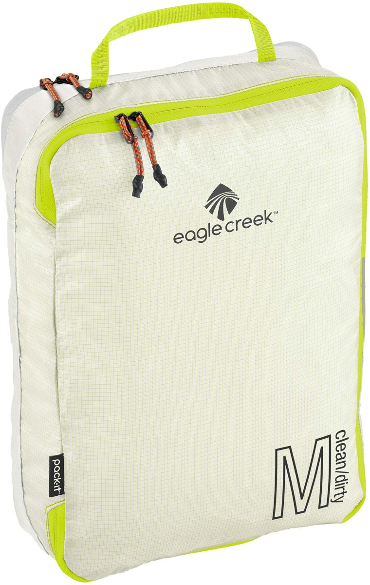 Eagle Creek Pack-It Specter Tech Clean/Dirty Cube M White kopen