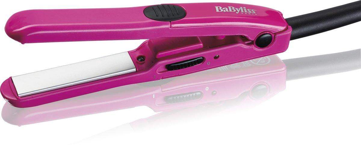 BaByliss H100E Straightening iron Warm Roze haarstyler