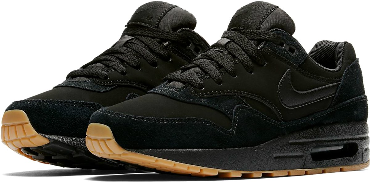 on sale 71c54 952a7 ... Nike Air Max 1 Premium SC - Sneakers - Zwart/Wit - Dames - Maat ...