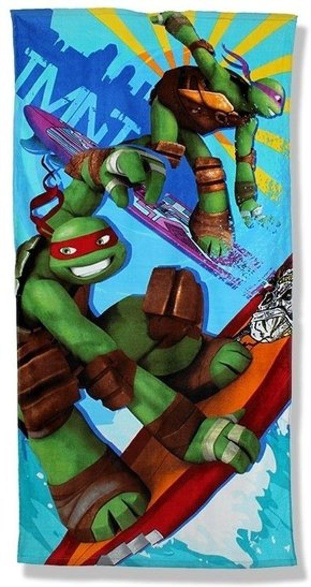 Ninja Turtles strandlaken - handdoek - badlaken katoen kopen