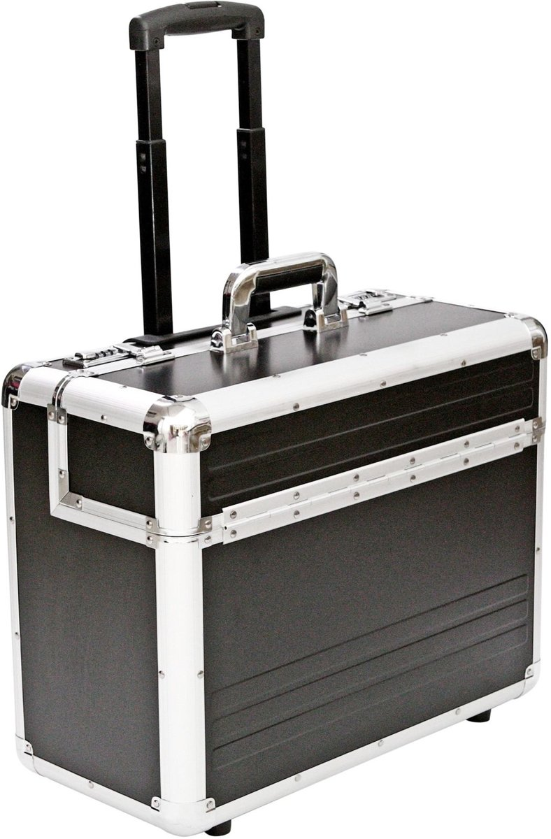 Aluminiumn Pilotcase - Handbagage - Pilotenkoffer Trolley (AL207) kopen