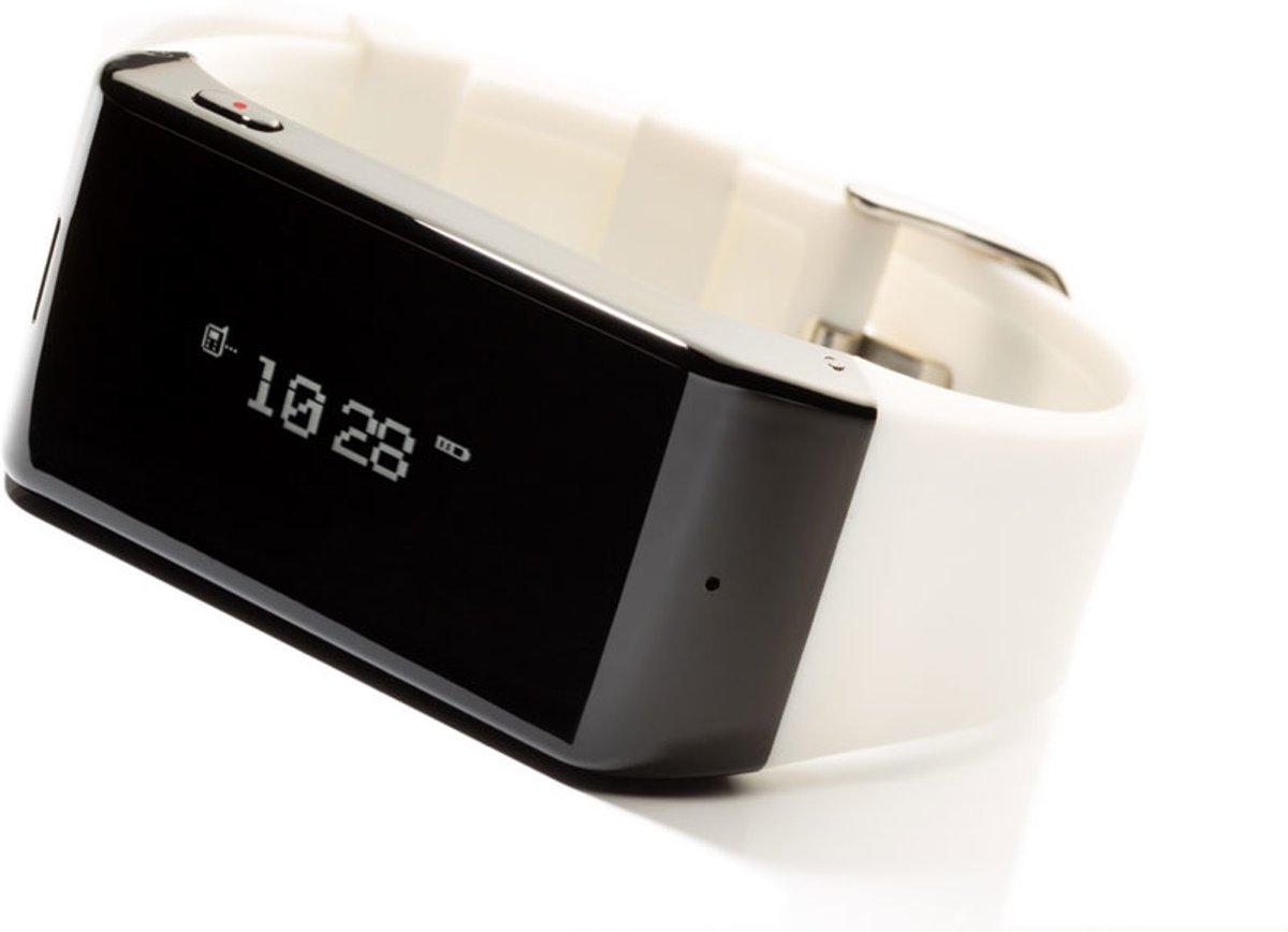 MyKronoz ZeWatch smartwatch - Wit met siliconen band kopen