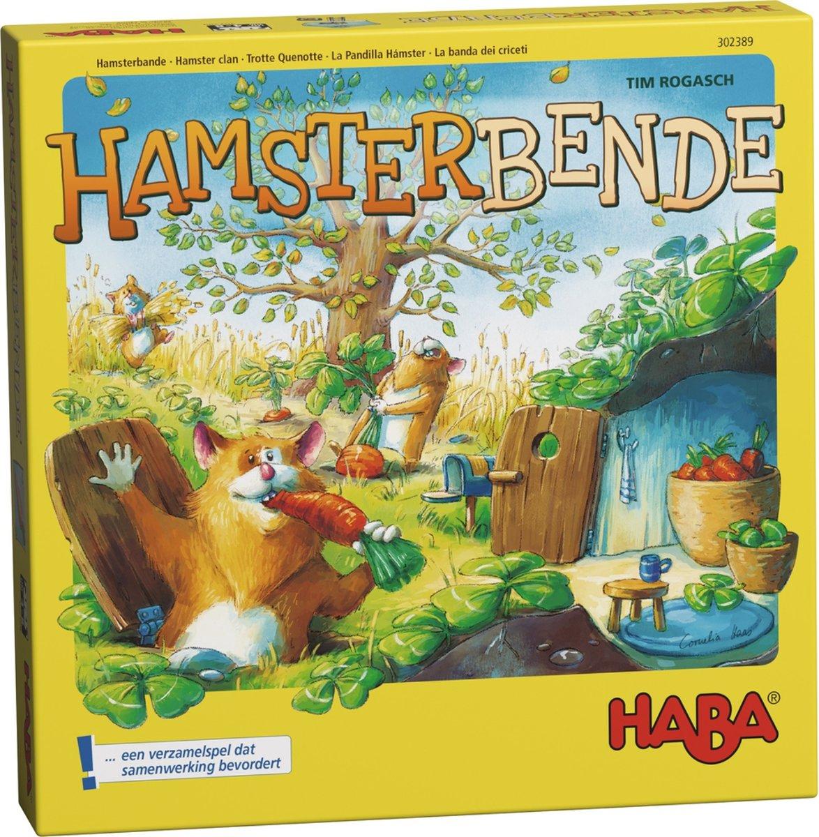 Haba Spel Spelletjes vanaf 4 jaar Hamsterbende