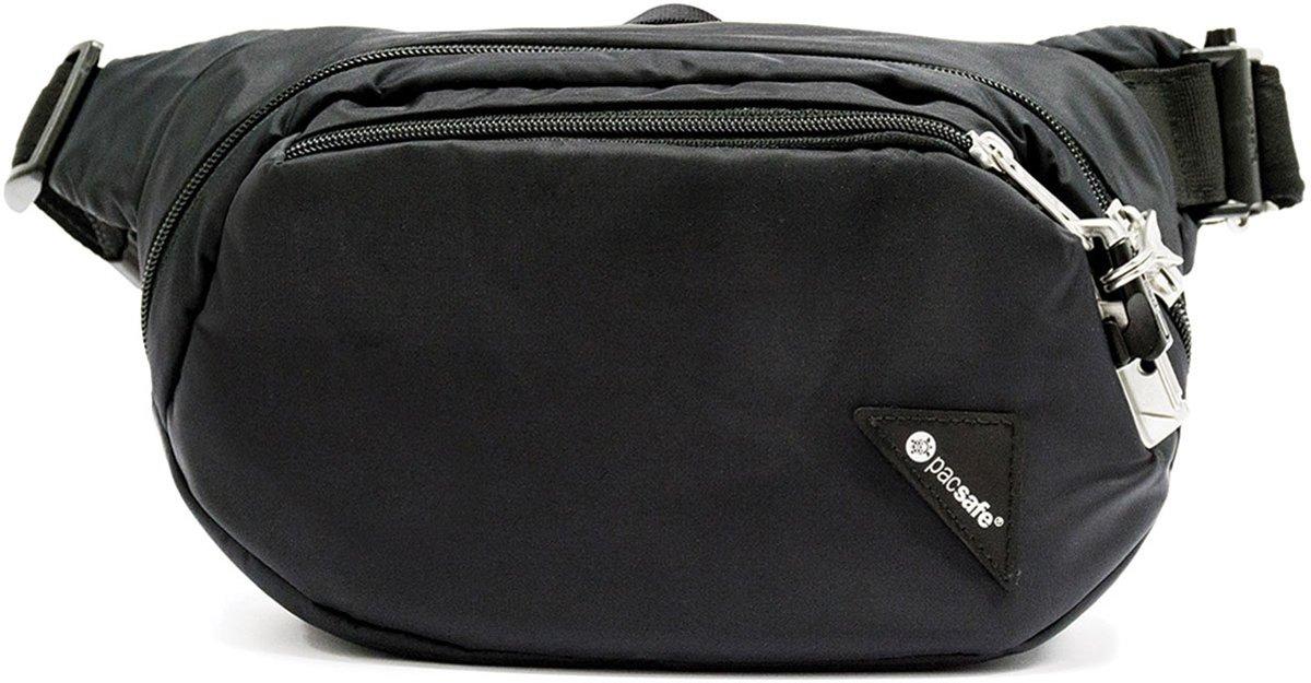 Pacsafe Vibe 100-Anti diefstal Heuptas-4 L-Zwart (Black) kopen