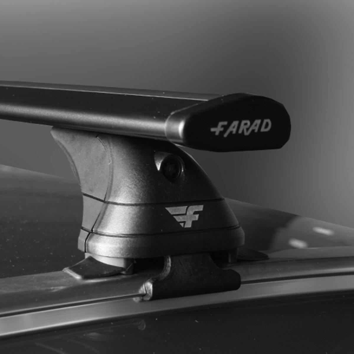 Dakdragers Audi Q5 SUV vanaf 2017 - Farad aluminium wingbar zwart kopen