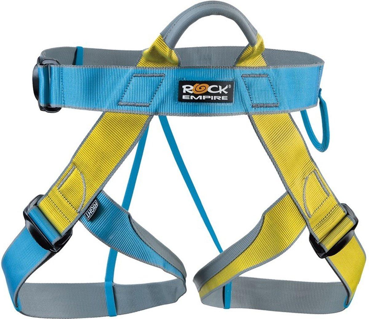 Rock Empire Speedy een ideale klimgordel voor klettersteigen eenvoudige alpiene tochten buitensportorganisaties en klimhallen.
