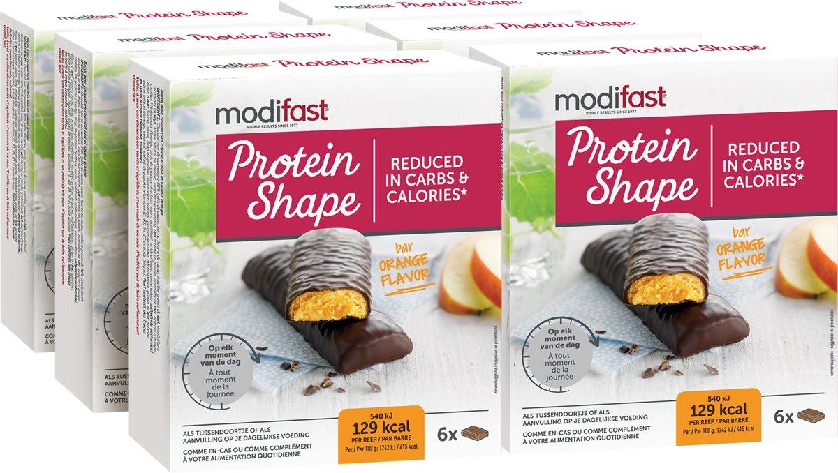 Modifast Protein Shape - Reep Sinaas Pure Chocolade - 6x6 stuks kopen