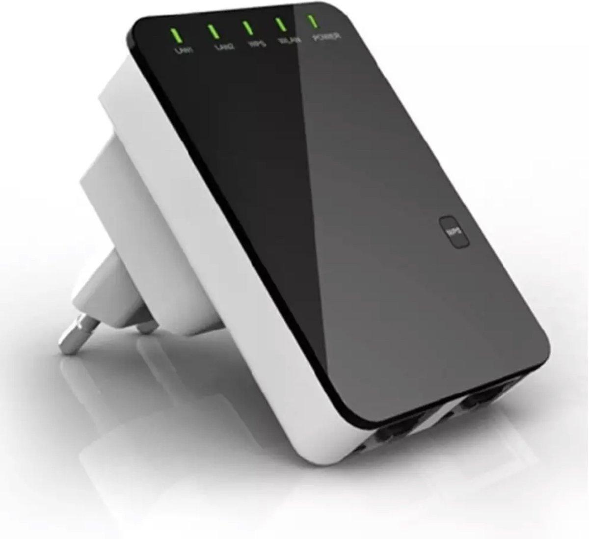 Wifi versterker - Range extender - Nieuw en verbeterd model 2019 - Draadloos - Stopcontact - wireless wifi wifi versterker - 300 mbps - verbeterd de wifi in huis kopen