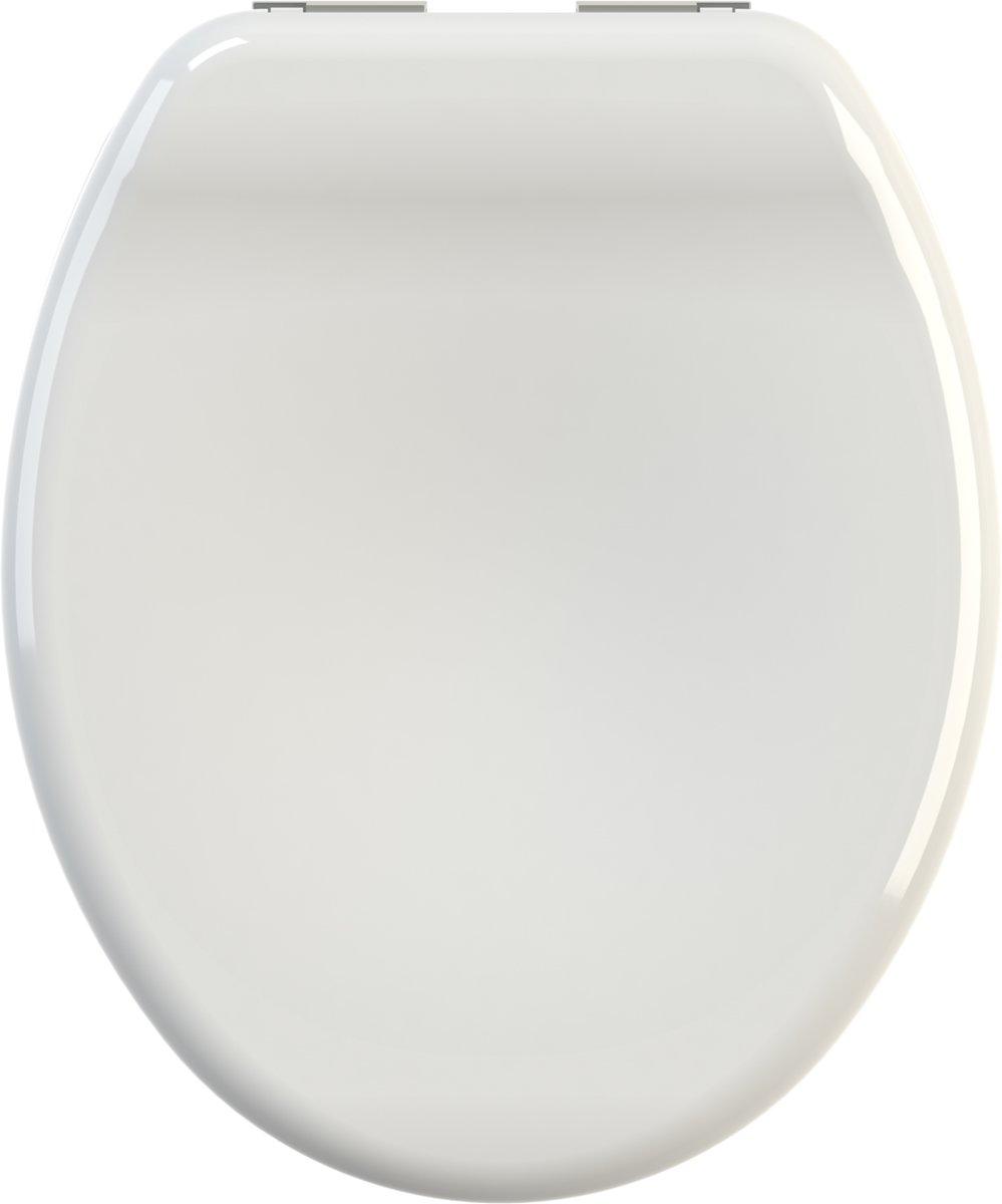 Allibert wc-bril KEA  - thermodure - soft close - verchroomde scharnieren - wit kopen