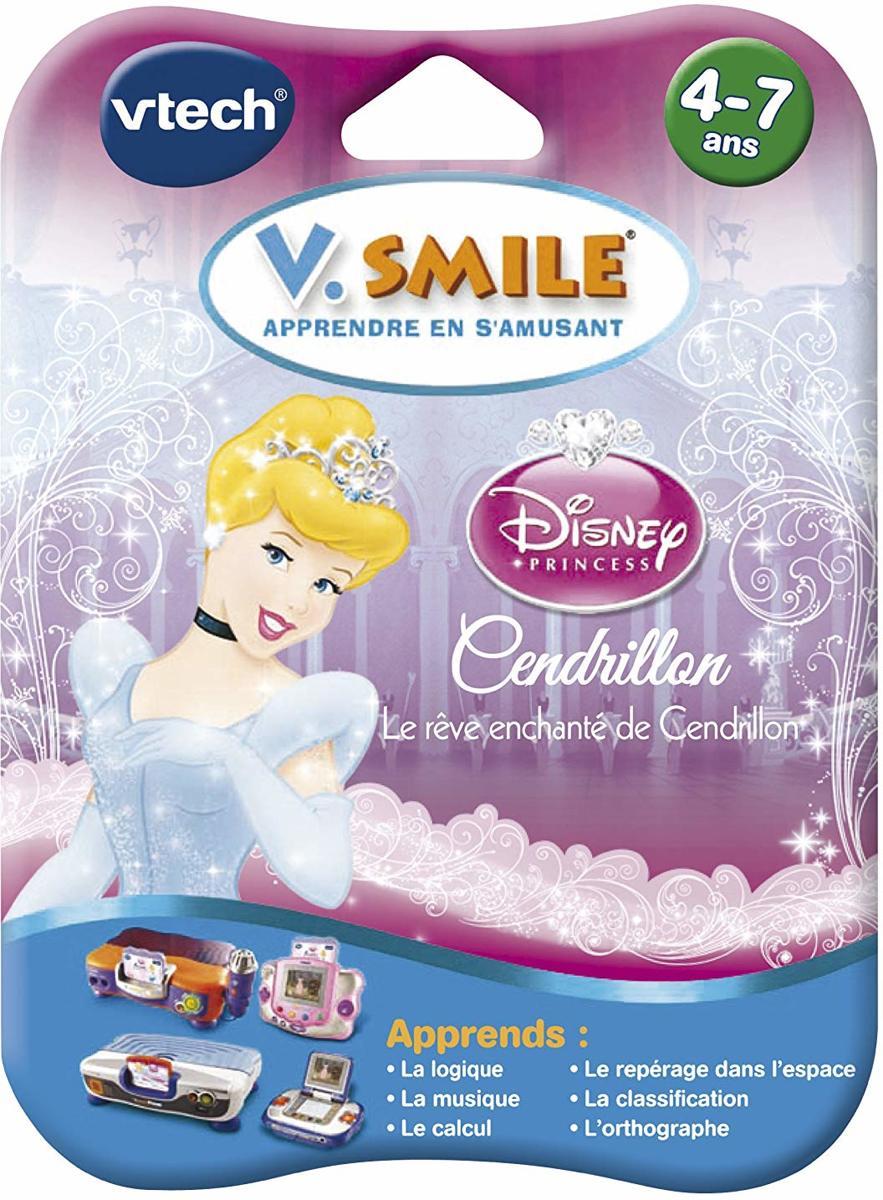 Vtech V.Smile Apprende en S'amusant - Disney Princess V Motion Jeu Cendrillon
