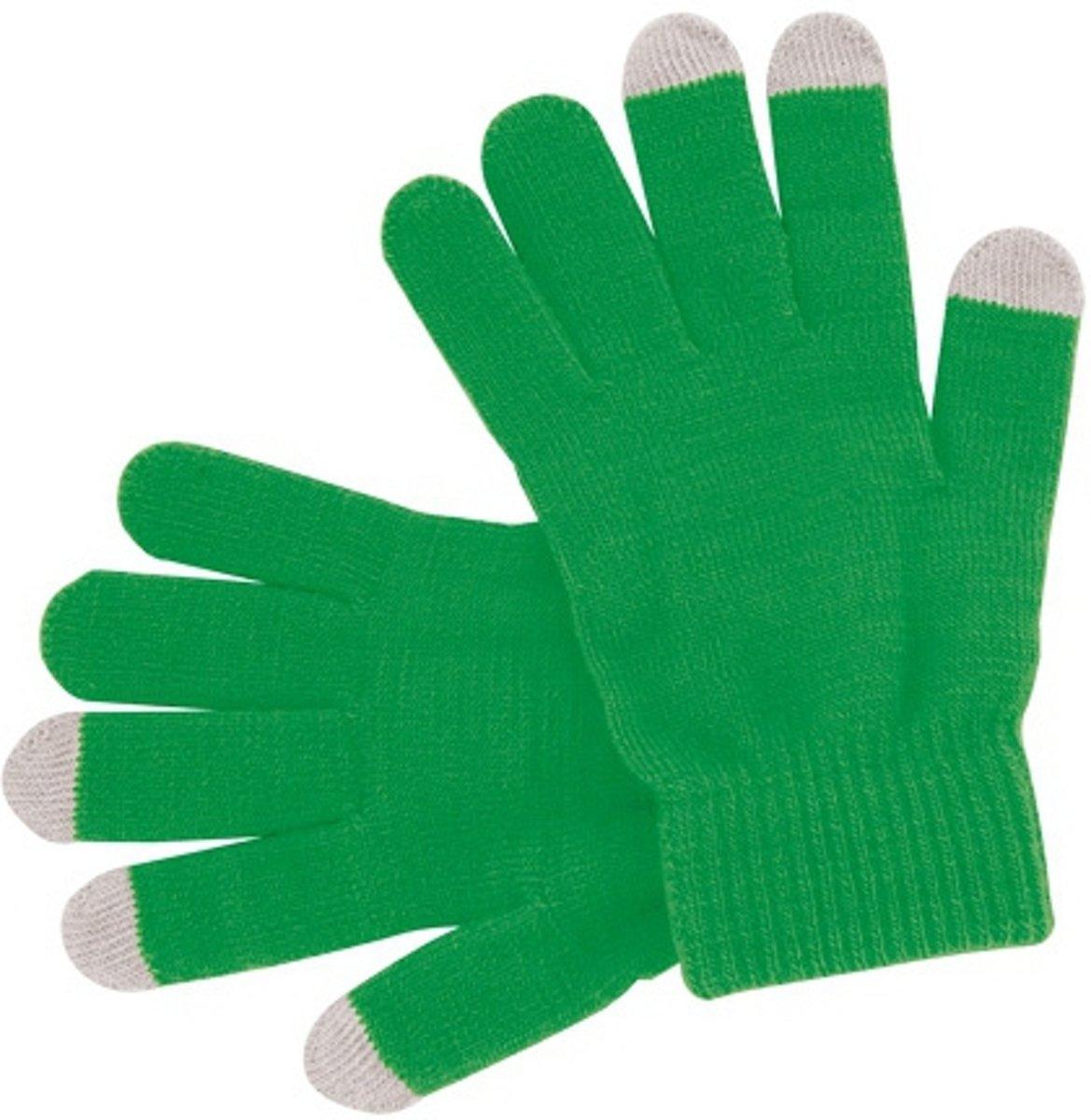 Smartphone Handschoen - Werkt op Touchscreen - Groen kopen