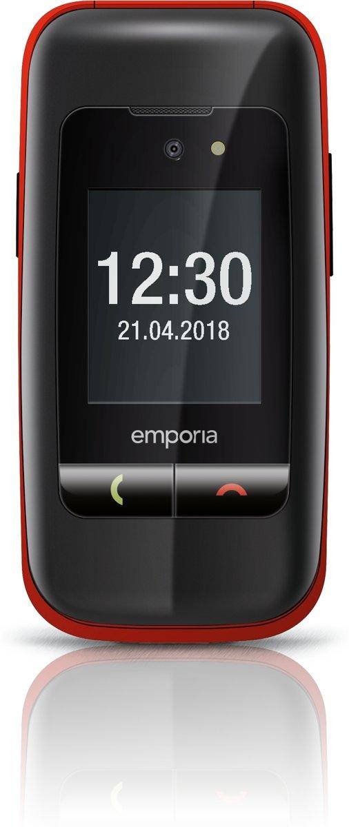 Emporia ONE Senioren Telefoon - Zwart / Rood kopen