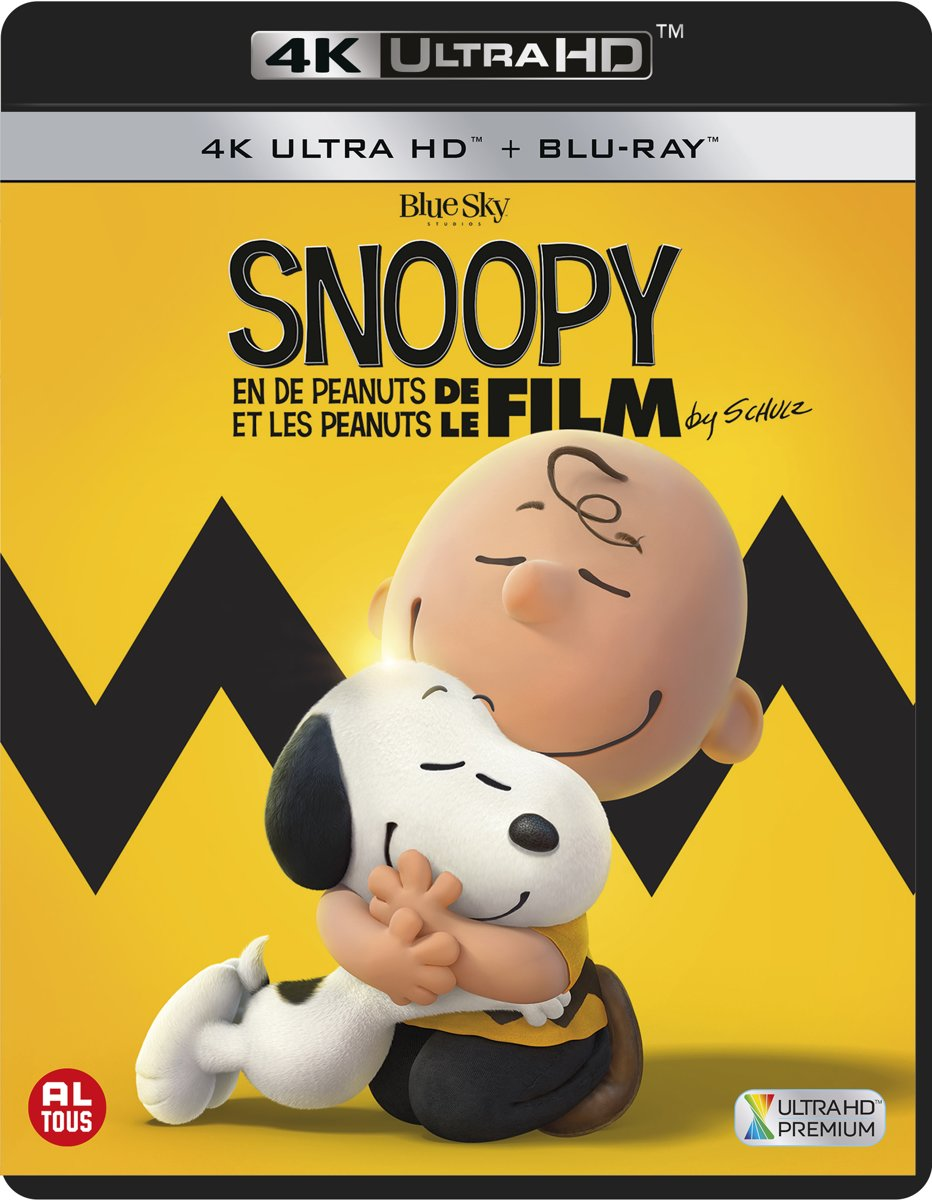 Snoopy & Charlie Brown: De Peanuts Film (4K Ultra HD Blu-ray)-