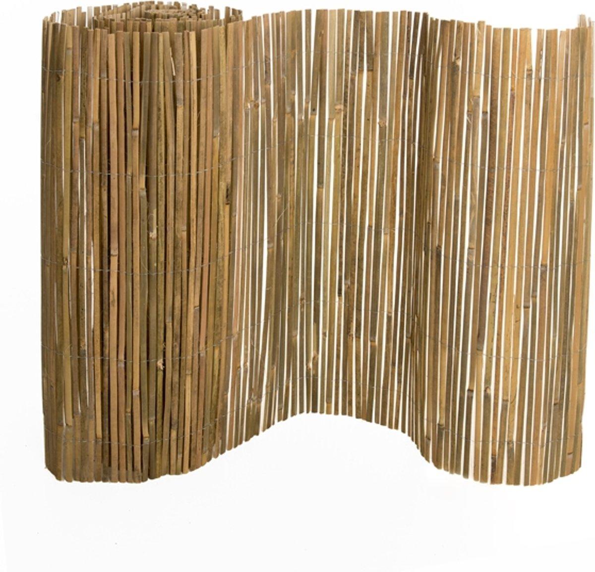 Bamboe mat 100x500 cm - gespleten kopen