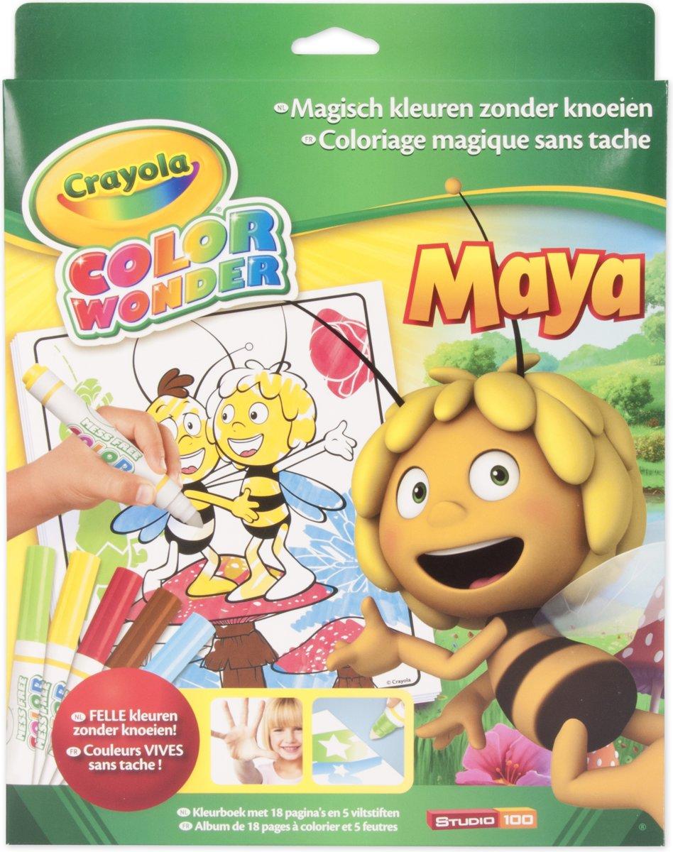 Bol Crayola Color Wonder Box Set Maya De Bij Crayola