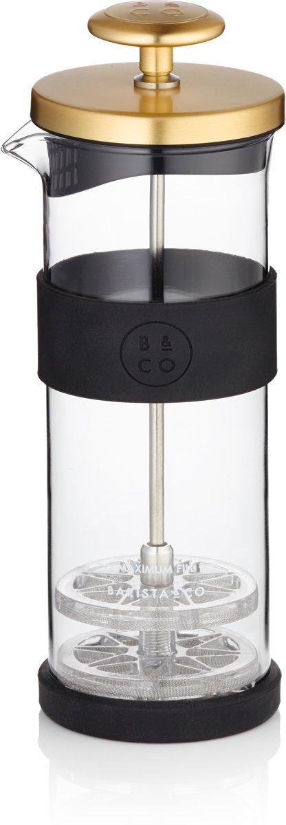 Barista & Co Melkopschuimer - RVS - Goud kopen