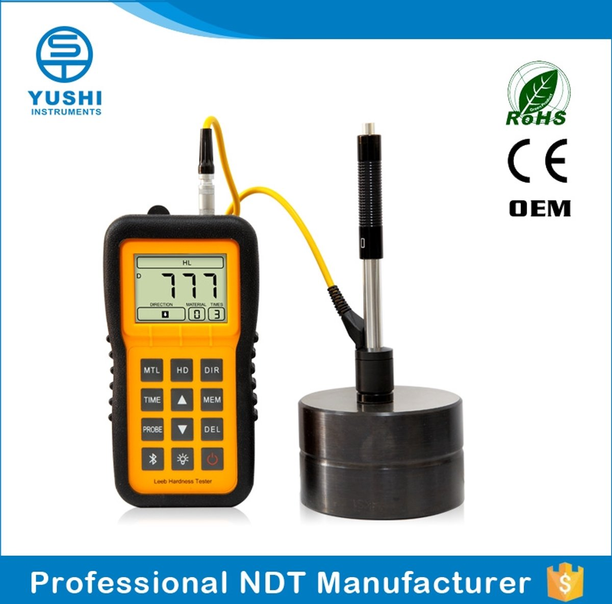 YUSHI LM100 top 10 portable hardness tester metal hardness tester leeb harness tester kopen