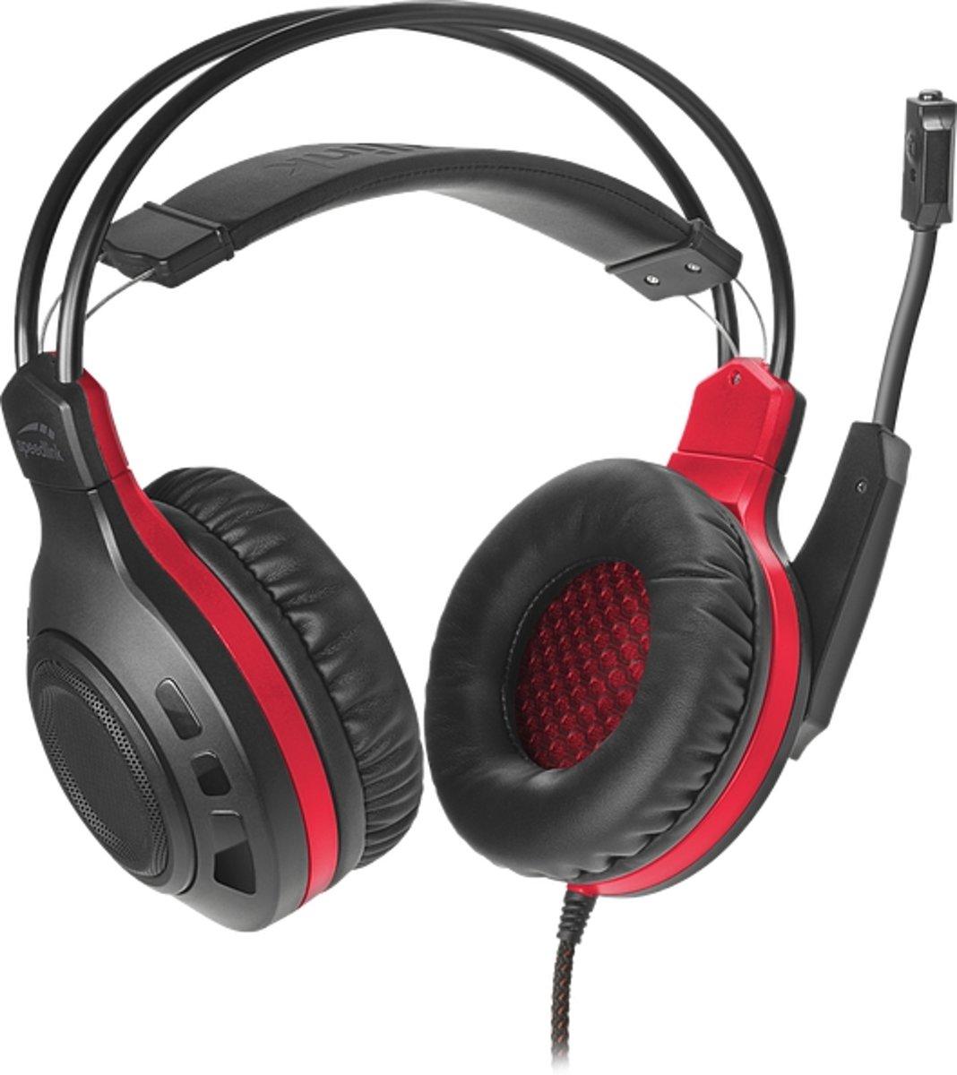 Speedlink Celsor Gaming Headset - Zwart/Rood - PS4 kopen