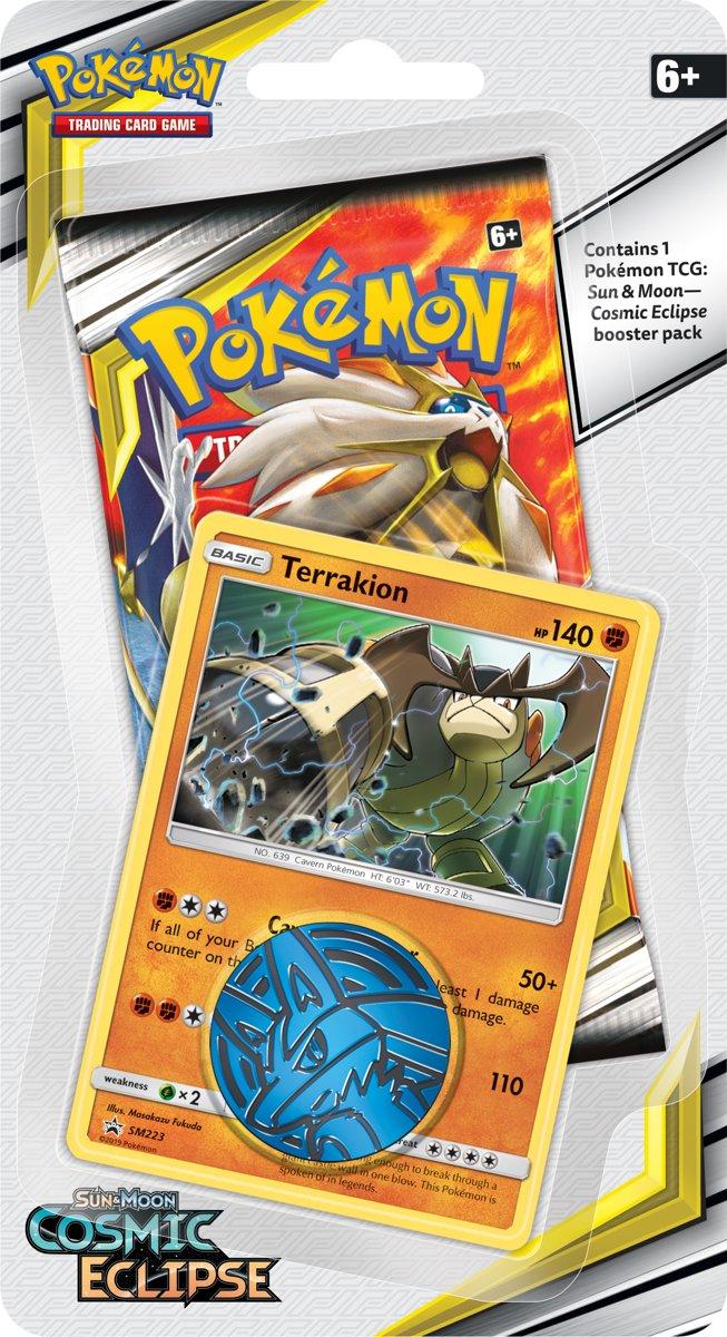 Pokémon Sun & Moon Cosmic Eclipse Checklane Booster Terrakien - Pokémon Kaarten kopen