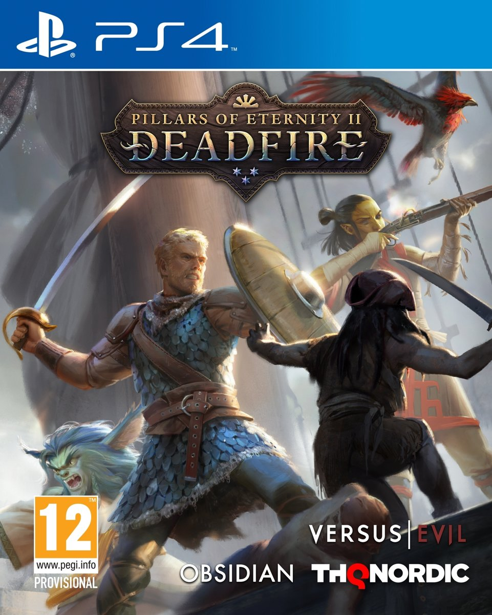 Pillars of Eternity 2: Deadfire PlayStation 4